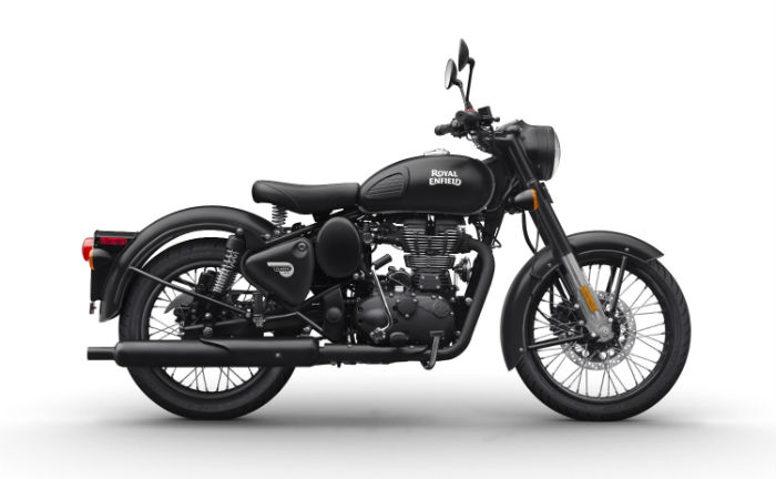 Royal Enfield Stealth Black