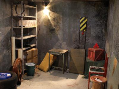 Sala MacGyver no Escape 60