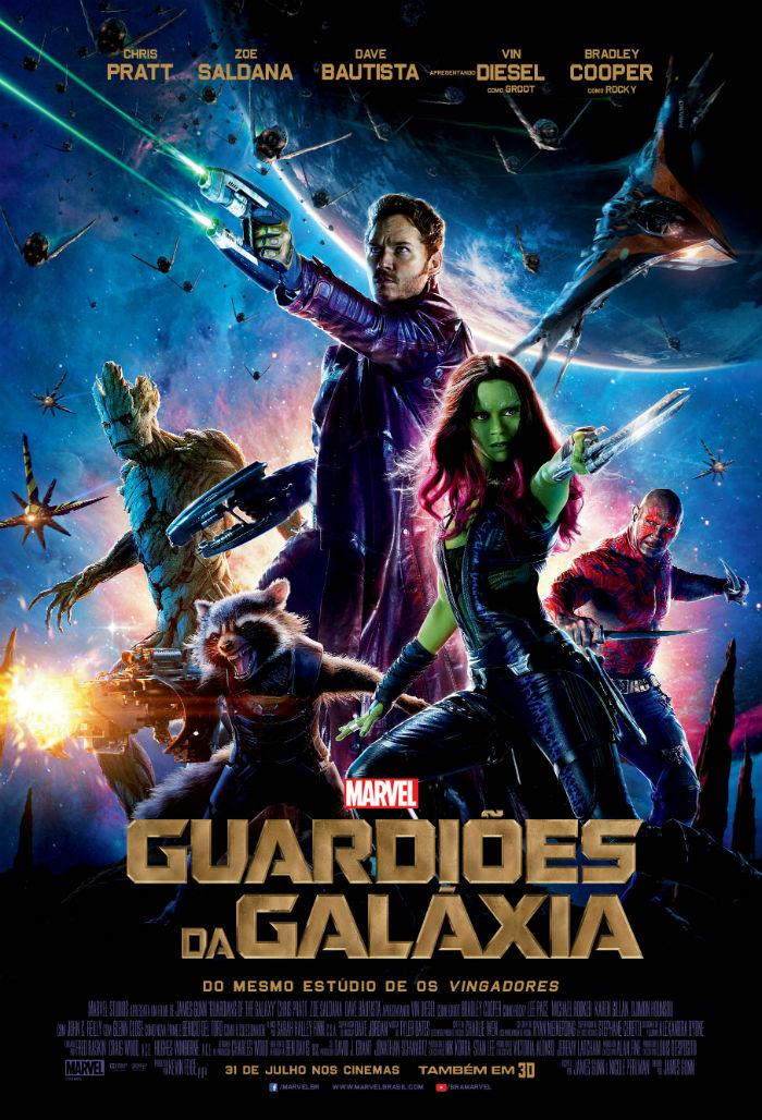 Poster Guardiões da Galáxia