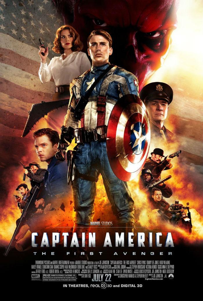 Poster filme Capitão América