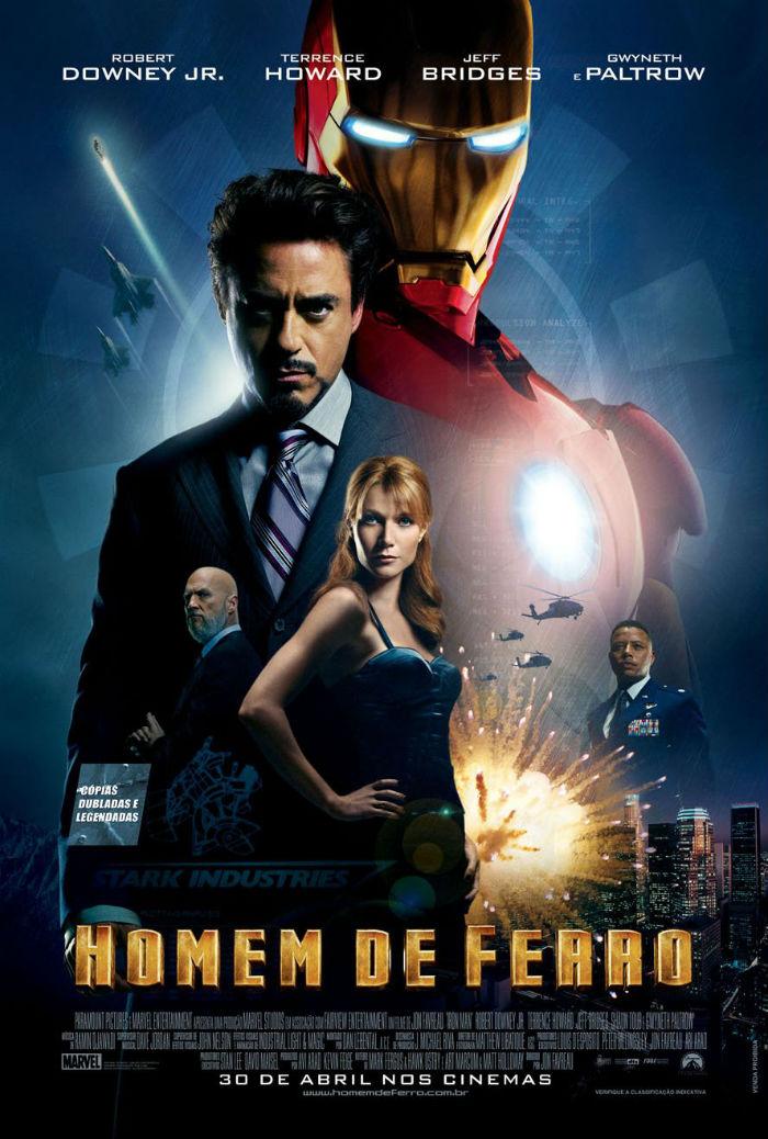 Poster Homens de Ferro