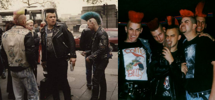 Visual Psychobilly nos anos 90