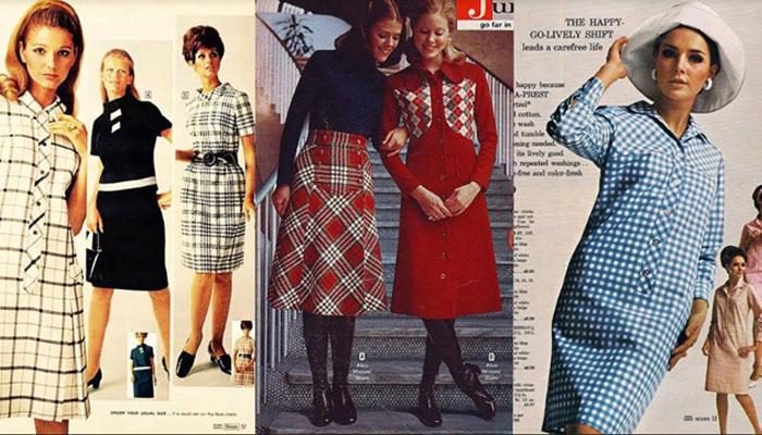 Xadrez na moda vintage