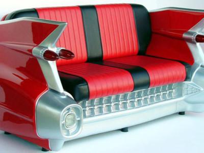 sofá de carro