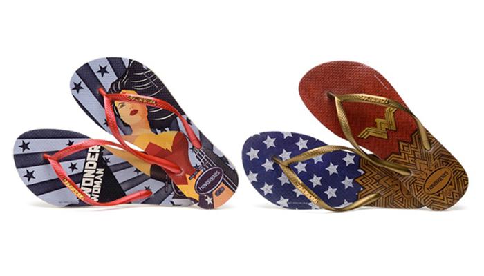 7a77c2175 Havaianas lança sandália da Mulher-Maravilha! | Universo Retrô