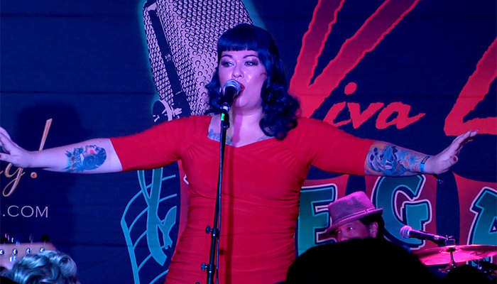 Cantora de Rockabilly