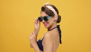 Óculos Retrô de Verão
