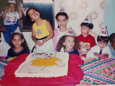 Aniversário na Infância