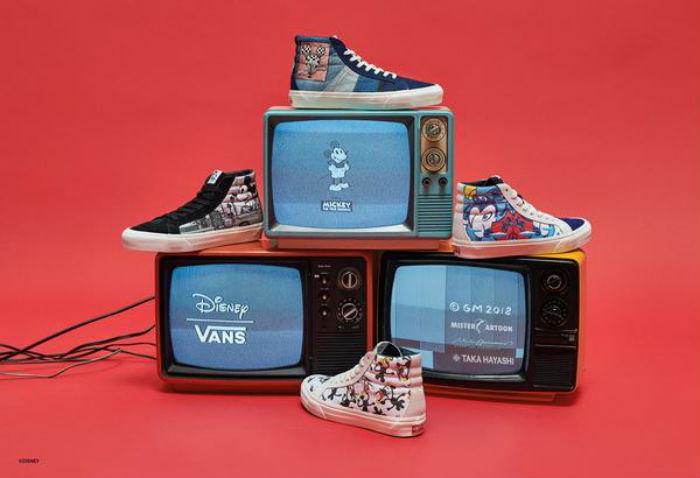 Coleção Vans com Disney (