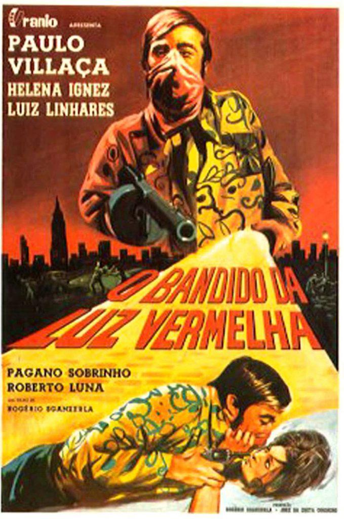 """Pôster de """"O Bandido da Luz Vermelha"""", 1968"""