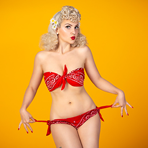 Pin-Up Bandana