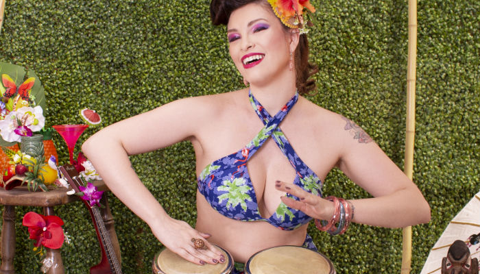 Estilo Pin-Up Tiki